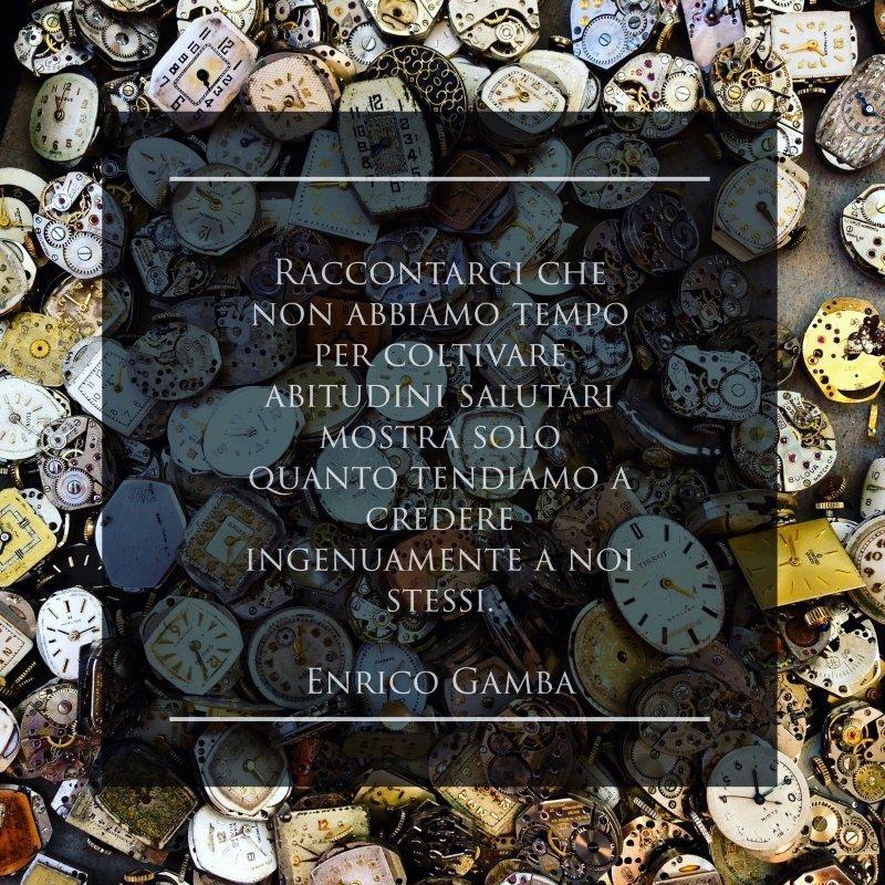 Tempo per noi stessi - Psicologo Milano - dr. Enrico Gamba