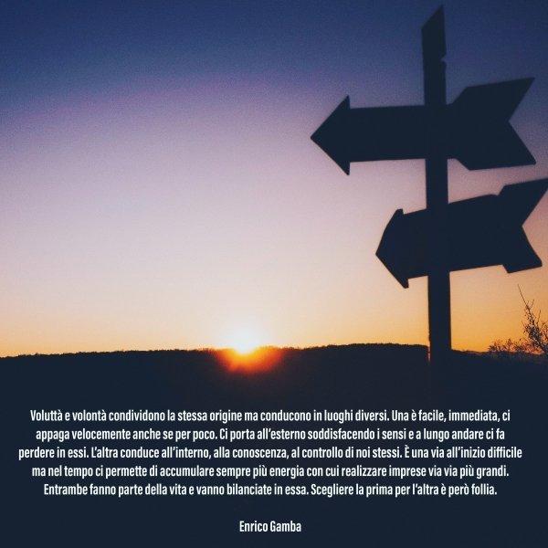 Voluttà e volontà - Psicologo Milano - dr. Enrico Gamba