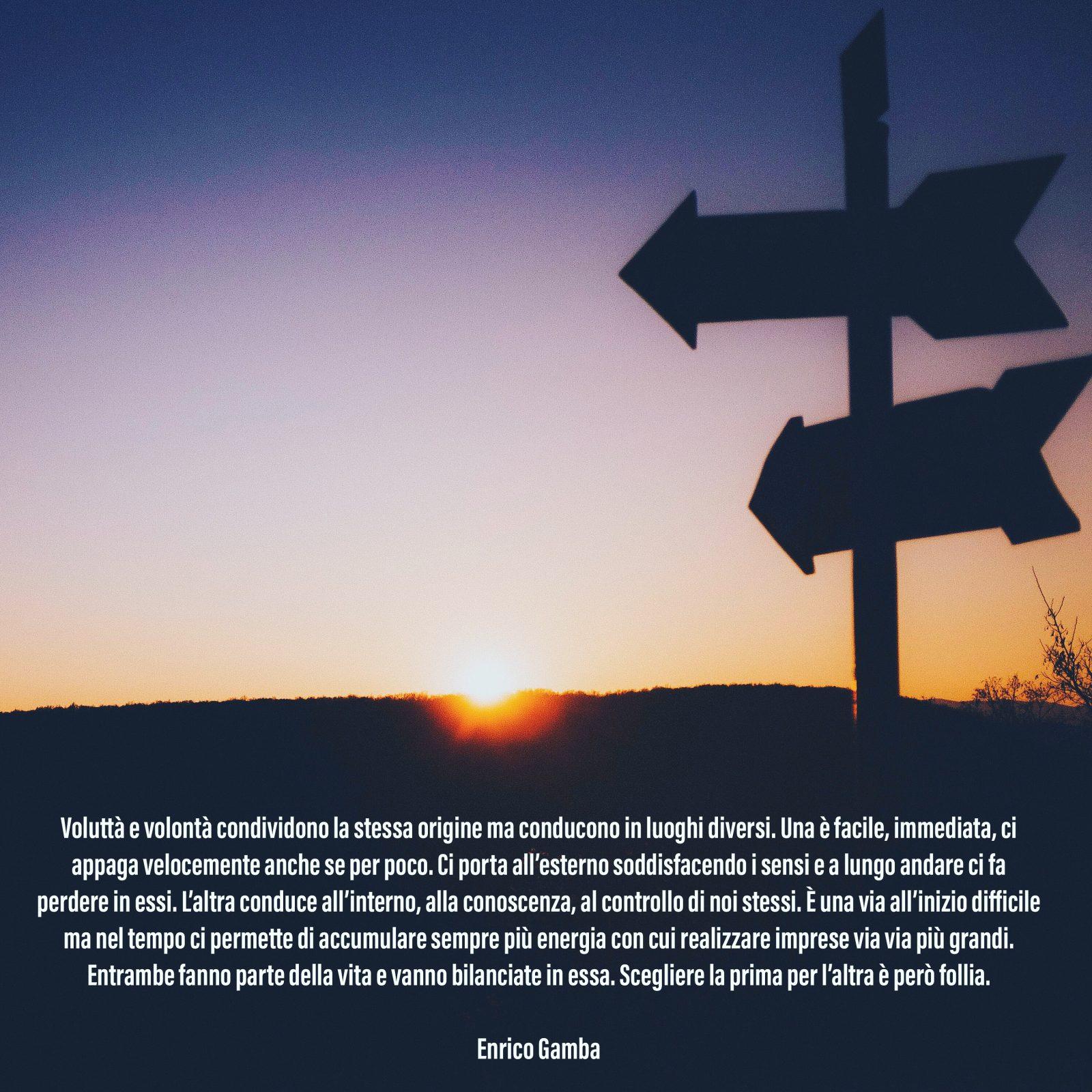 Voluttà e volontà – Psicologo Milano – dr. Enrico Gamba